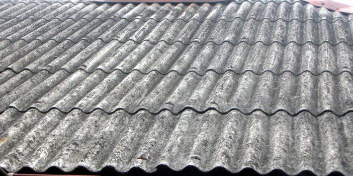 azbest na dachu