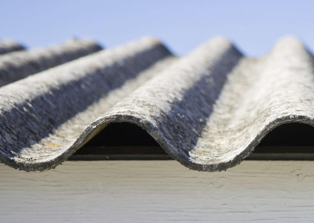dachówka wykonana z azbestu