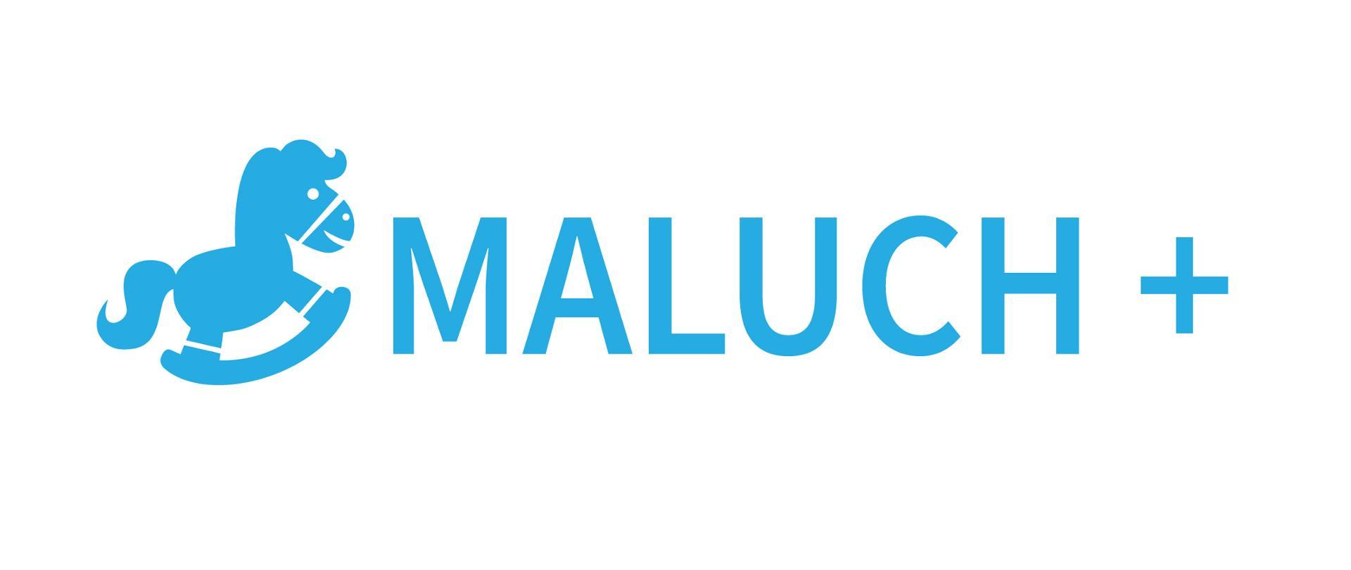 logo programu Maluch +: konik na biegunach
